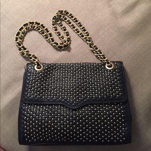 Rebecca Minkoff Gold Studded Chain Bag