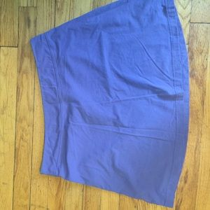 Purple comfy min skirt