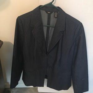 Two-piece blazer and skirt set