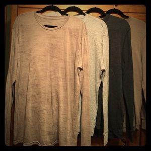 BUNDLE of 4 Men's Crew Neck Shirts