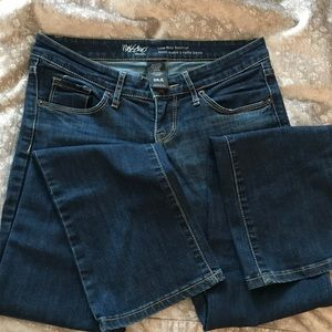 Mossimo Low Rose Bootcut Jeans
