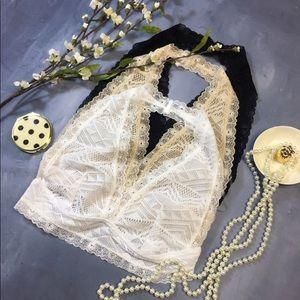 🎉SALE💓NWT Infinity Raine white lace bralette