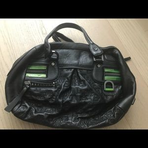 L.A.M.B. Ultraviolet small satchel