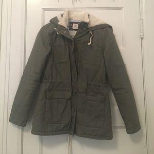 Element hooded utility jacket