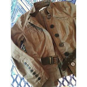 Zara Basic Military Jacket