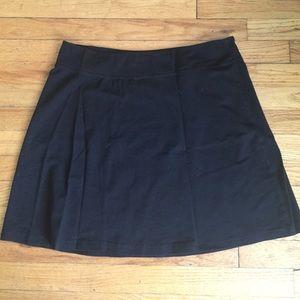 Stretch mini skirt