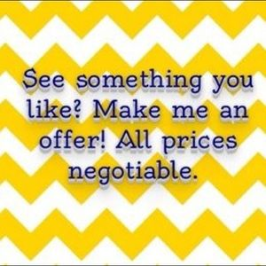 I ❤️ OFFERS! See something you like? Let me know!