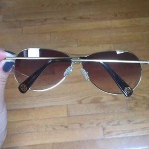 a11851e1e2 Tory Burch Accessories - Tory Burch gold aviator sunglasses TY 6006 101 84