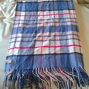 Gap plaid oversized scarf