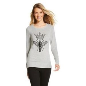 Queen Bee statement sweater
