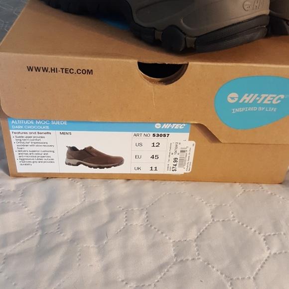 Hi-Tec Shoes - Hi-tech Altitude Moc Suede
