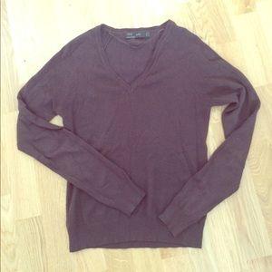 Brown Zara sweater