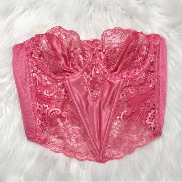 eaf05e9aad4 Christian Dior Other - Vintage Christian Dior Lace Bustier Corset Top 36B