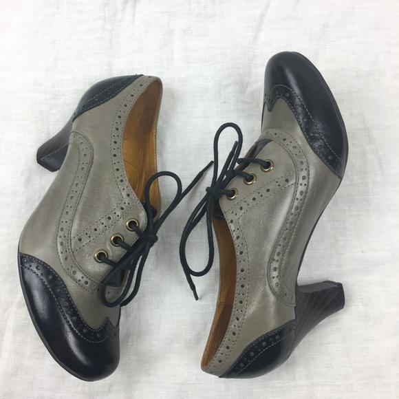 2953a1f72bdc5 Ibiza last Jeffrey Campbell leather oxford heels 6