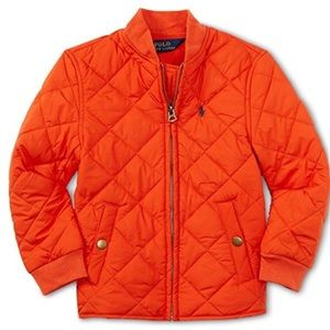 Boys Polo Quilted Jacket