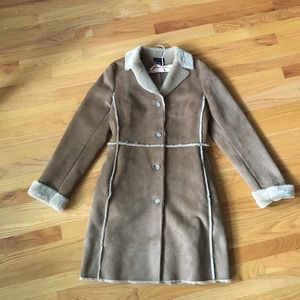 Jackets & Blazers - Ann Taylor long fully lined coat gorgeous and warm
