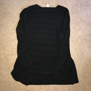 Black Stripped Sweater
