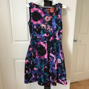 Taylor fit and flare dress