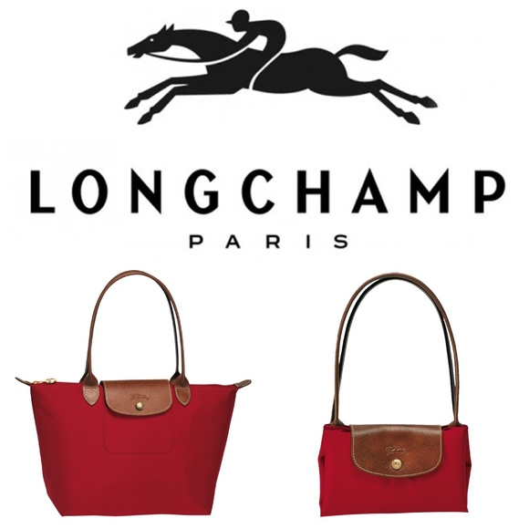 ef132483559 Longchamp Bags   Nwot Le Pliage Tote Bag Red   Poshmark
