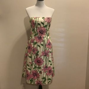 Dresses & Skirts - Helen Wang Strapless Floral Dress