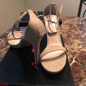 New Strappy Heels