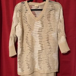 Daytrip Sweaters - Daytrip Cozy Tan and Ivory Sweater