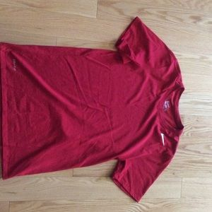 Nike Dry Fit Red Shirt Size S-MINT condition
