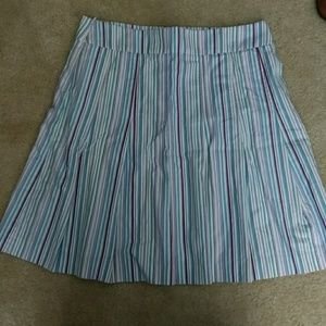 Cool Tone J Crew Pleated A-line Skirt size 12