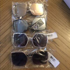 Accessories - Square frame sun glasses