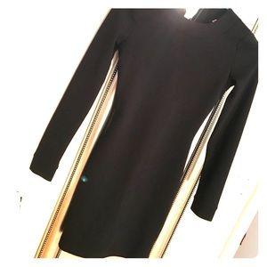 Arden B Black long sleeve dress