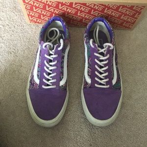 41eec8a476ec1d Vans Shoes - RARE Purple Paisley Vans