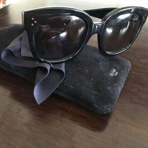 New Audrey Celine Sunglasses- black