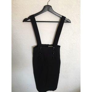 VTG suspender pencil skirt