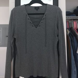 Tops - Who What Wear Grey Top