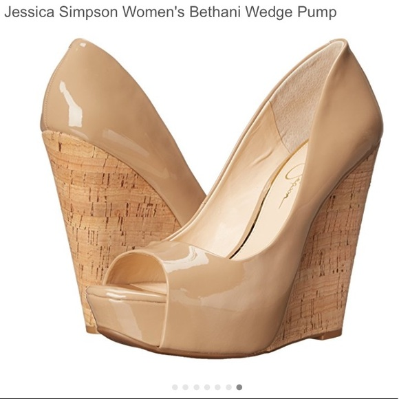 3869c383a6f6 Jessica Simpson Women s Bethani Wedge Pump