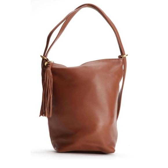 Hobo BLAZE convertible backpack shoulderbag BRANDY 8c18d38363924