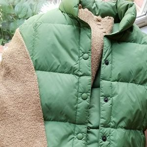Jackets & Blazers - LAND'S END FEATHER DOWN PUFFER VEST