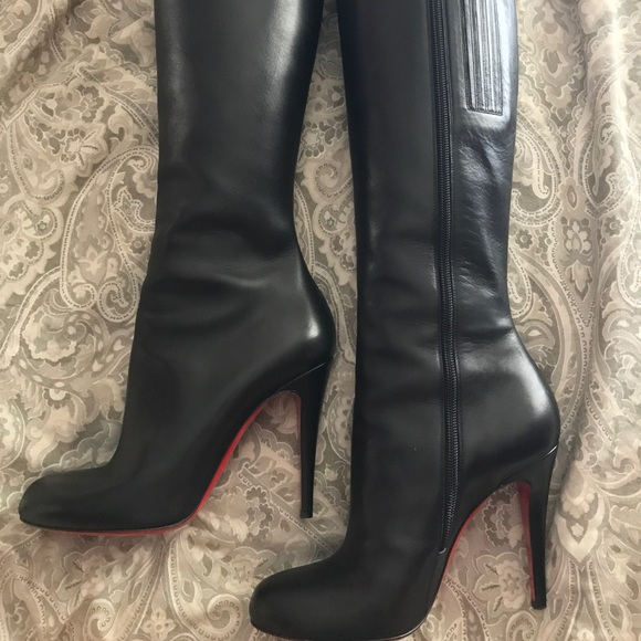 2d289fb3a8bb Christian Louboutin Shoes - Authentic Christian Louboutin - Babel 100 boots