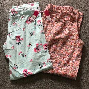 Lot of 2 NWT Xhilaration PJ pants