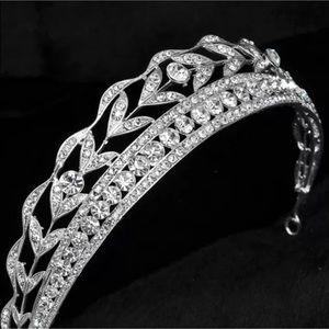 Accessories - Crystal Tiara Headband - Bridal