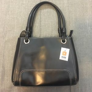 NWT Wilson's Leather wrapped handle bag
