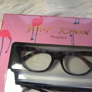 54fa43538660 Betsey Johnson Accessories - NWT Betsey Johnson Reading Glasses +2.00
