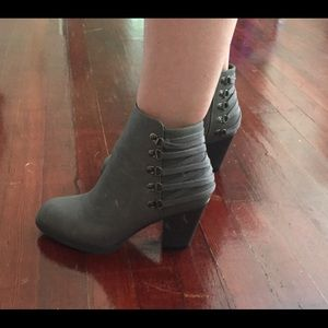 Grey Booties- Size 8