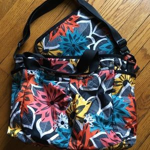 LeSportsac diaper bag with changing pad