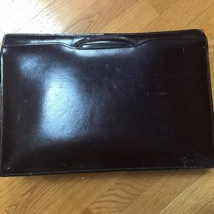 Like New Vintage Leather Briefcase