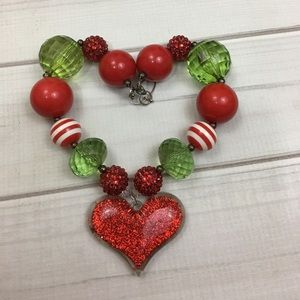 Other - Chunky beaded necklace