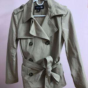 Forever 21 trench coat.