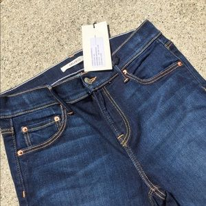 GRLFND denim dark wash stretch skinny Jean