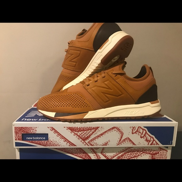 new balance 247 brown luxe