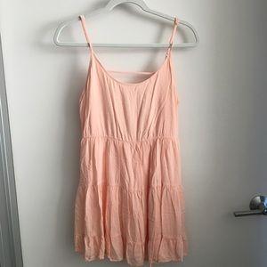 EUC Aritzia Talula Backless Mini Dress